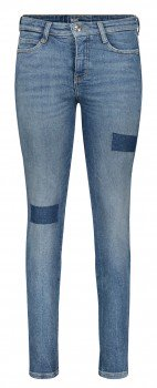 MAC Skinny mid blue patched wash 5996-90-0312L D573