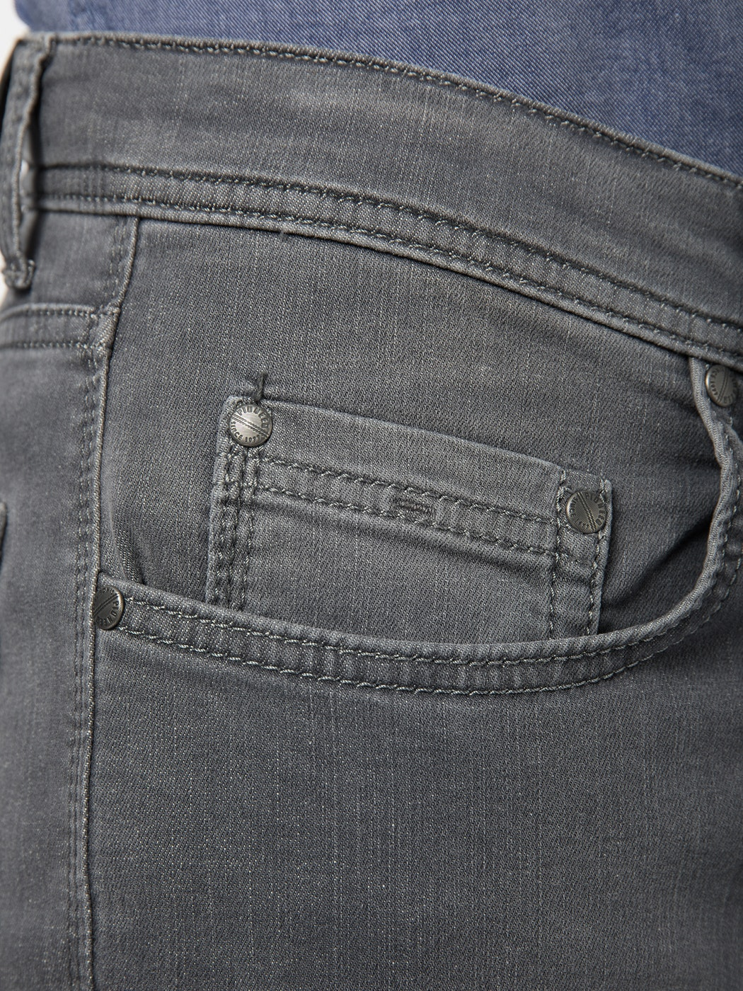 PIONEER RANDO MEGAFLEX grey stone used look Herren Five Pocket 1680 9713.06