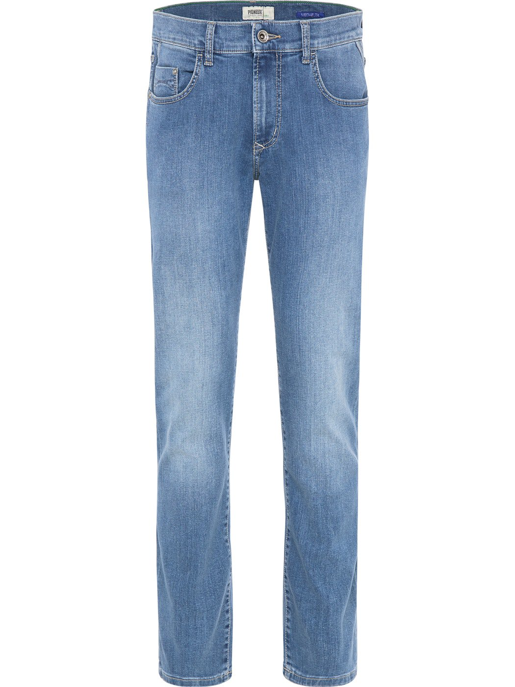 Modern Fit Stretch Jeans Hommes Pioneer Eric MEGAFLEX stone used 1616 9920.06