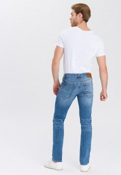 Cross Jeans Damien mid blue used buffies E198-007